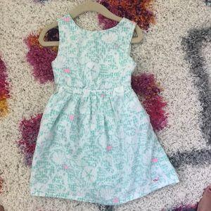 Vineyard Vines Coral and Sand dollar dress